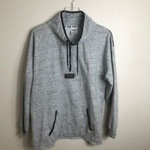 Victoria Secret PINK Gray Black Sweatshirt 2313